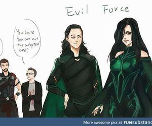 thor, funny, and Hulk image