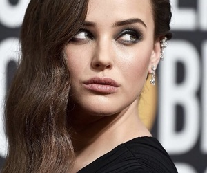 katherine langford, golden globes, and 13 reasons why image