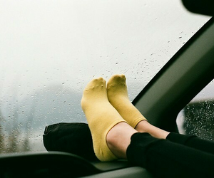 picture, rain, and socks image