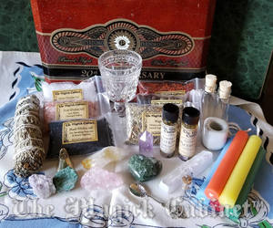 etsy, gift set, and wiccan altar kit image