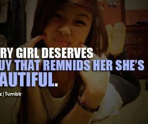 quote, beautiful, and girl image