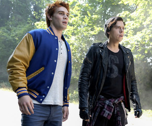 archie andrews, jughead jones, and riverdale image