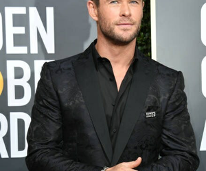 chris and golden globes image