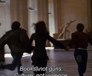 books, culture, and guns image