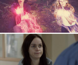 funny, once upon a time, and swan queen image