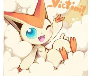 pokemon and victini image