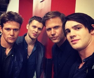 tvd, klaus, and alaric image