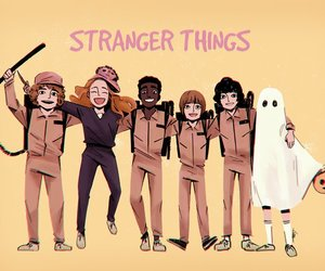 art stranger things image