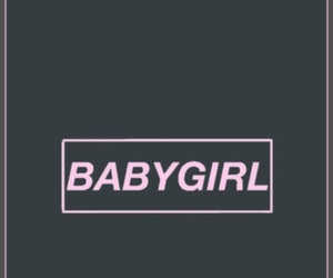 background, babygirl, and pink image