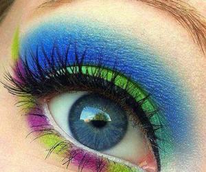 eye, eyes, and make up image