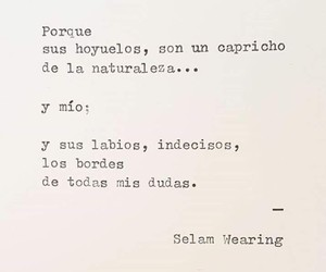 amor, labios, and frases image