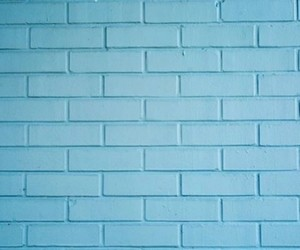 aesthetic, blue wall, and wall image