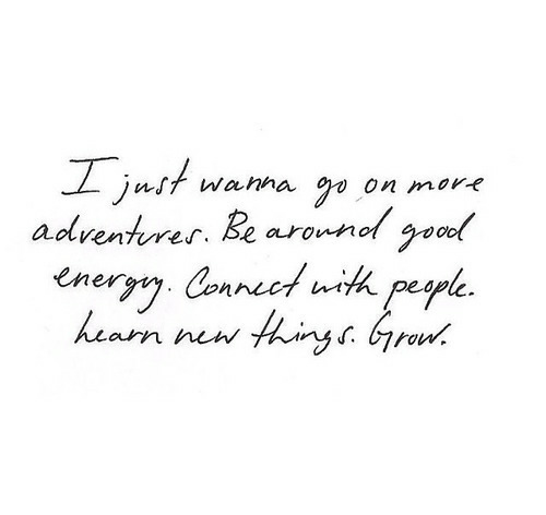 quotes, adventure, and grow image