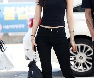 kpop, airport fashion, and naeun image