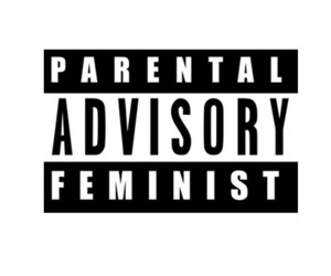 aesthetic, feminist, and cover image