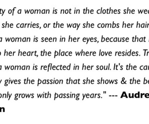audrey, deep, and love image