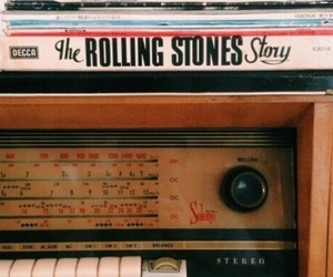 theme, vintage, and music image