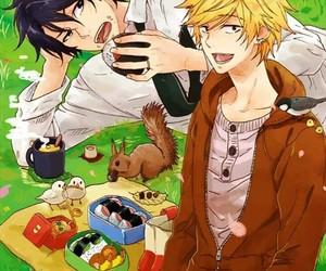 bl, couples, and manga image