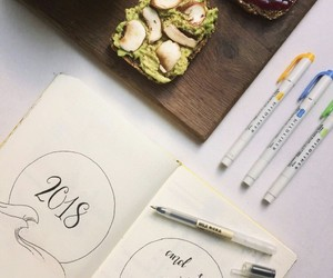 idea, 2018, and bullet journal image
