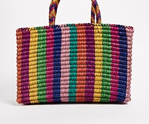 bags, women, and beach image