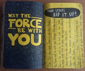 star wars, wreck this journal, and WTJ image