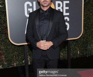 golden globes and zac efron image