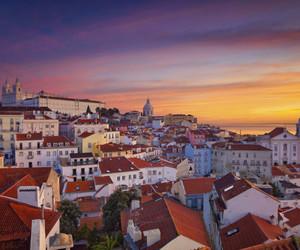 city, europe, and lisbon image