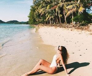 beach, fashion, and kenza image