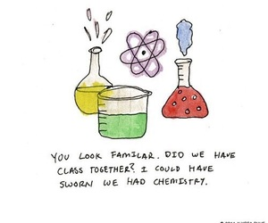 love, chemistry, and funny image