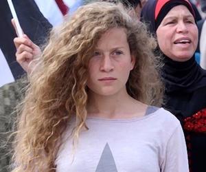 palestine and عهد التميمي image