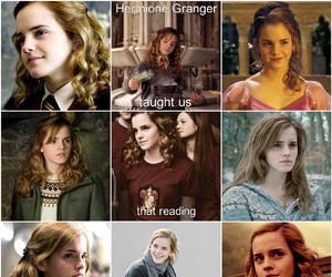 books, movies, and emma watson image