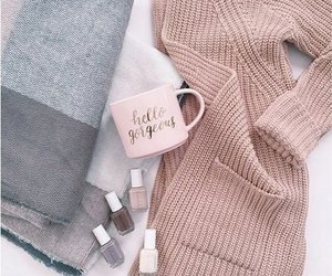 boots, sweaters, and coat image