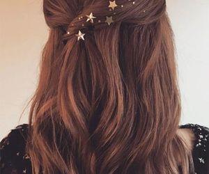 blonde hair, brunnette, and hair image
