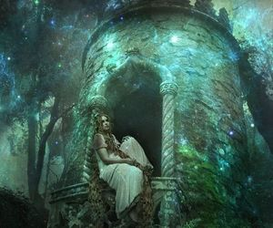 fairytale, fantasy, and rapunzel image