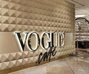 aesthetic, cafe, and vogue image
