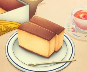 anime and anime food image