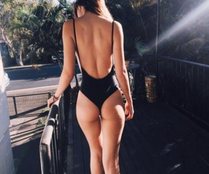 ass, fitness, and swimsuit image