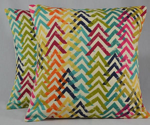 bright colors, chevron, and etsy image