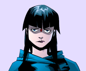 annoyed, DC, and raven image