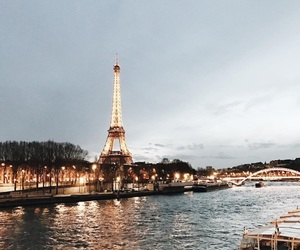 paris, photography, and sea image
