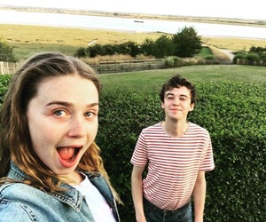 Alyssa, world, and alex lawther image