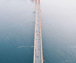 photography, san francisco, and bridge image