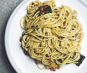 pasta, sesame, and spaghetti image