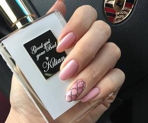 nails, pink, and kilian image