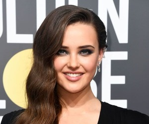 golden globes, 13 reasons why, and katherine langford image