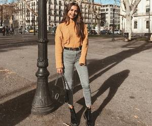 yellow and ootd image