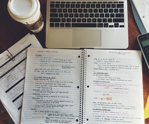 coffee shop, college, and motivation image
