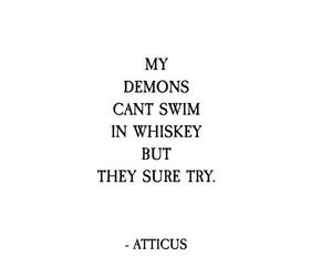 poem, quotes, and atticus image