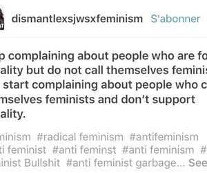 feminism, funny, and funny text image