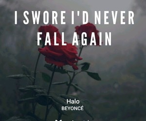 fall, Lyrics, and love image
